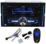 JVC KW-R910BT Double Din Car CD AM_FM Player Receiver