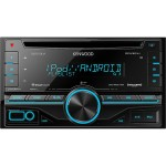 Kenwood DPX301U Double Din CD Receiver with Front USB and Aux Inputs